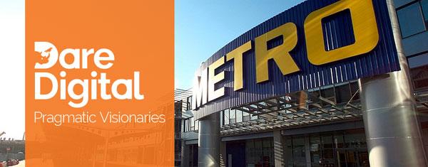 Dare Digital partener strategic METRO Romania