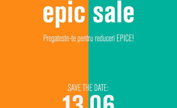 FASHION DAYS EPIC SALE, cel mai mare eveniment de shopping al verii organizat de Fashion Days: 13 -15 iunie