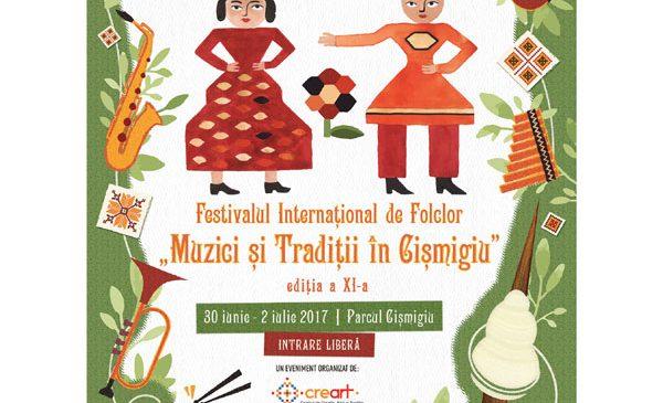 """Festivalul Internațional de Folclor """"Muzici și Tradiții în Cișmigiu"""""""