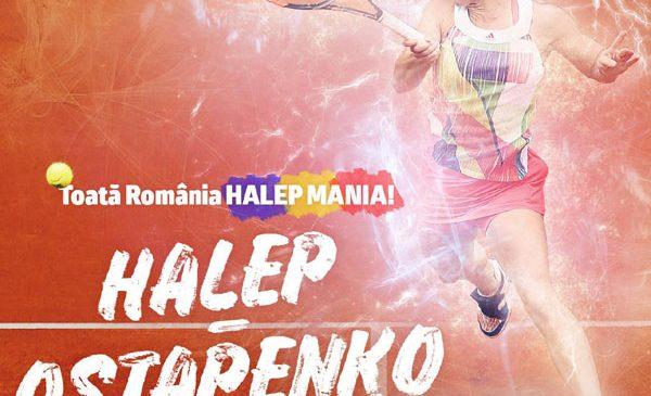 Toată România, Halepmania!
