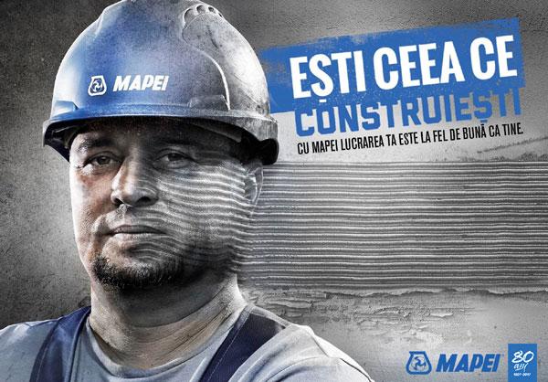 Mapei worker