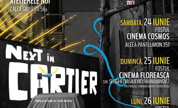 Anul acesta la NexT ai cinema în aer liber, la tine în cartier