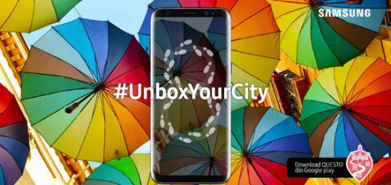 #UnboxYourCity – Descoperi orașul cu Samsung Galaxy S8 și Galaxy S8+