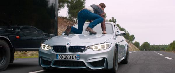 """Scott Eastwood şi BMW în """"Overdrive"""". Proiecţie exclusivă pentru fani la Paris şi Berlin"""