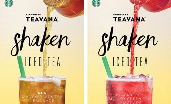 Starbucks dă startul verii în România cu băuturi de sezon TEAVANA și noi gustări în meniu