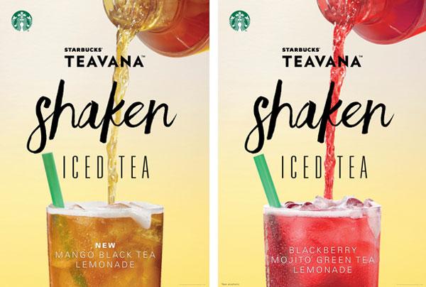 Starbucks Teavana shaken