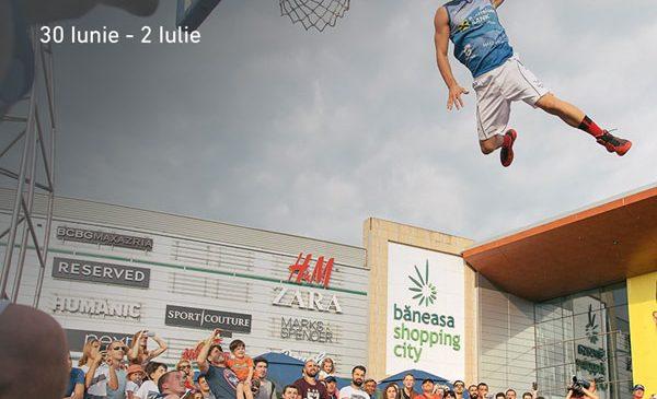 Vino pe terenurile de sport din Băneasa Shopping City să joci baschet, volei, darts football și beerpong