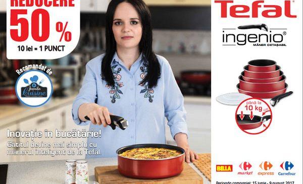 Tefal Ingenio – Inspiră-te, creează, gătește