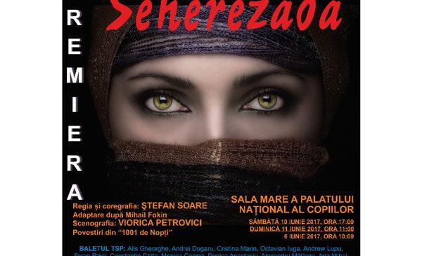 """Stela Popescu dă voce""""Şeherezadei"""", baletul-fantezie care are premiera sâmbătă şi duminică, la Palatul Naţional al Copiilor"""