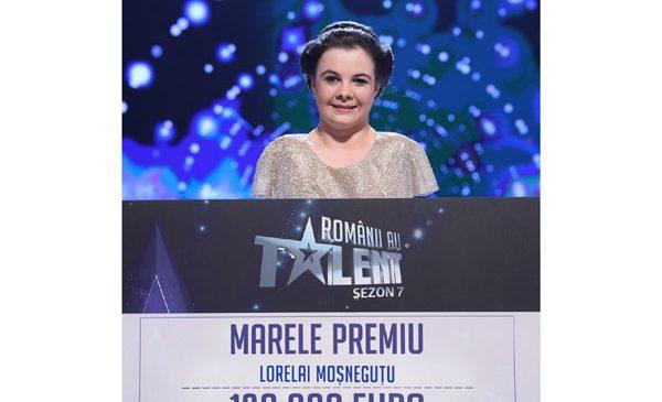 Lorelai Moșneguțu a câștigat sezonul #7epic Românii au talent
