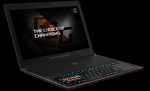 ASUS a prezentat laptopul ROG Zephyrus, alături de alte produse de gaming