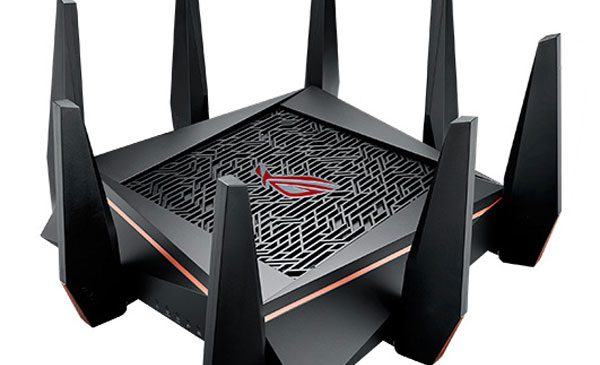 ASUS Republic of Gamers a anunțat routerul Rapture GT-AC5300
