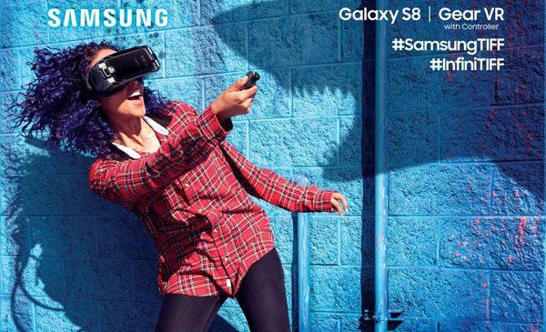 Samsung aduce în premieră tehnologia Gear VR la TIFF în spațiul InfiniTIFF