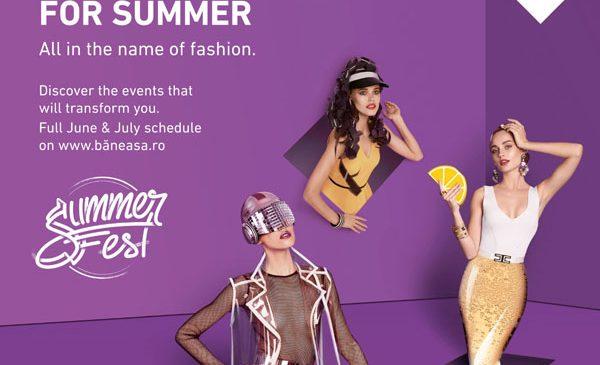 Sărbătorește vara la Băneasa Shopping City, în cea mai cool destinație de vacanță: Summer Fest