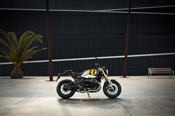 BMW R nineT in special paint
