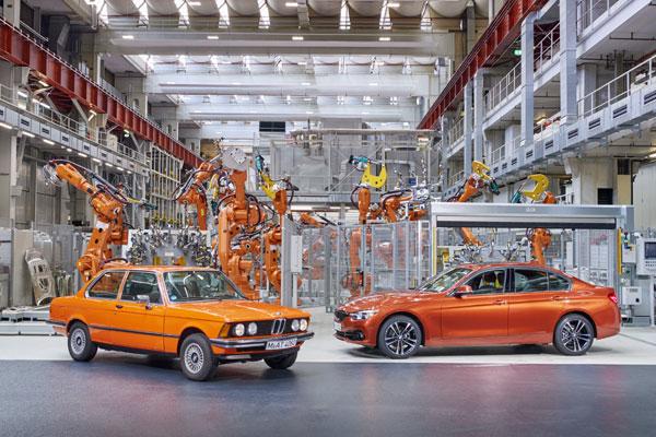 BMW Seria 3 (E21) si BMW Seria 3 Sedan (F30) Edition Sport Line Shadow