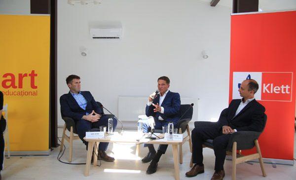 Premieră pe piața de carte educațională din România: parteneriat exclusiv între o importantă editură românească, Grupul Editorial Art, și unul dintre cele mai mari grupuri de profil din Europa, Klett Gruppe