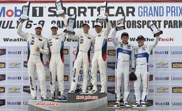 O săptămână – două curse, două ţări, două victorii: BMW M6 GTLM se clasează pe primul şi pe al doilea loc la Canadian Tire Motorsport Park