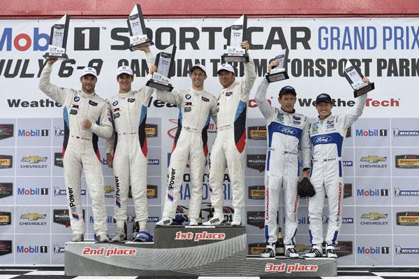 Dubla BMW M6 GTLM in etapa IMSA WeatherTech Sportscar Championship de la Mosport
