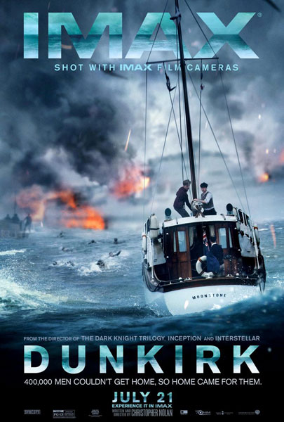 Dunkirk poster IMAX