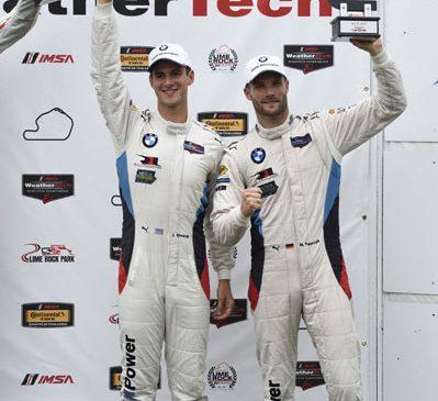 Edwards şi Tomczyk urcă pe podium pentru BMW la Lime Rock Park