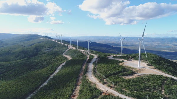 Enel începe operarea parcului eolian Cristalândia din Brazilia