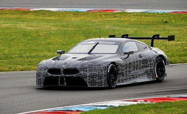 BMW M8 GTE în primele teste oficiale