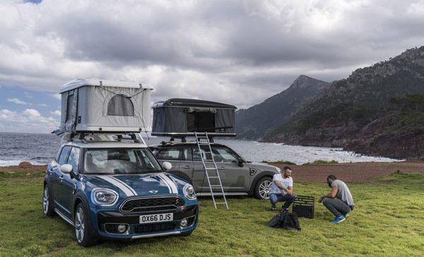 Evadare la înălţime: cortul pentru acoperiş AUTOHOME pentru noul MINI Countryman