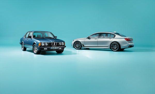 Lux, eleganţă şi dinamism prin tradiţie: BMW Seria 7 Edition 40 Jahre