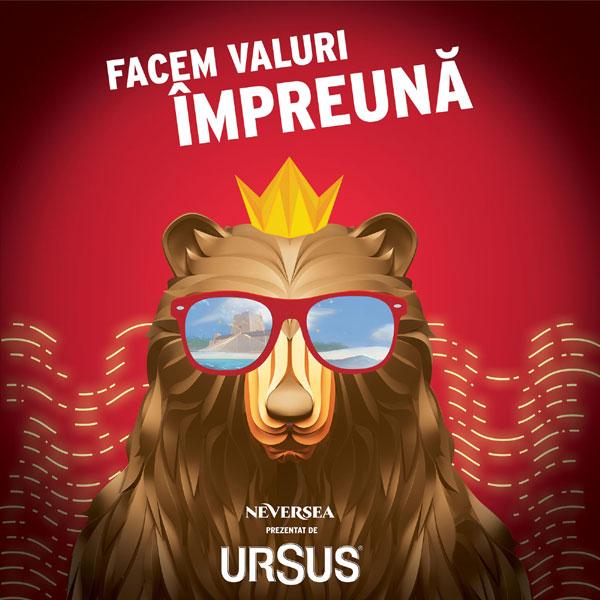 Ursus partener la festivalul NEVERSEA