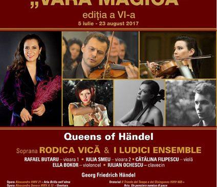 Queens of Händel – soprana Rodica Vică și I Ludici Ensemble