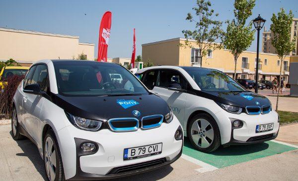 Primul serviciu de car sharing din Bucureşti, GetPony, debutează cu BMW i3