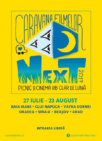 poster Caravana NexT 2017