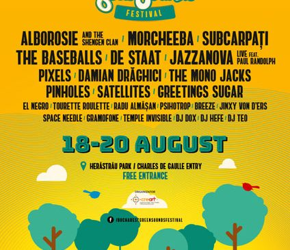 Alborosie and The Shengen Clan și Morcheeba la BUCHAREST GreenSounds Festival 2017