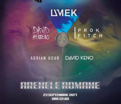 Legendarul UMEK, alături de patru DJi internationali, va juca rimul joc de ruleta ruseasca cu muzica techno si house la București