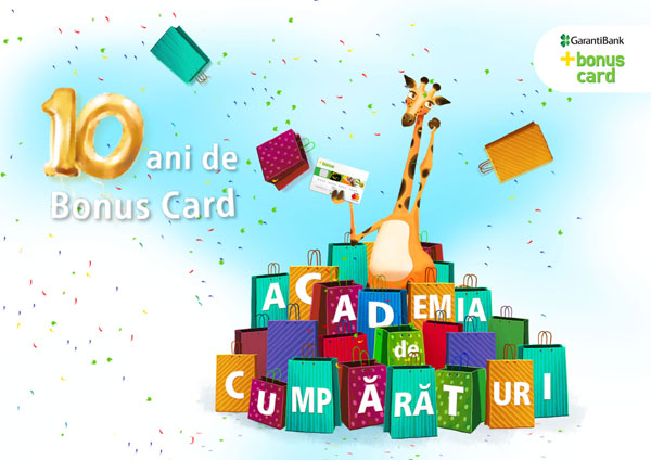 Bonus Card implineste 10 ani