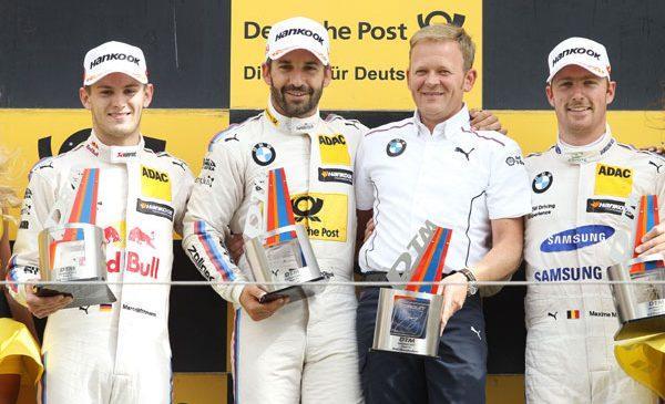 Podium monopolizat de BMW în prima cursă de la Zandvoort – Glock a câştigat, urmat de Wittmann şi Martin