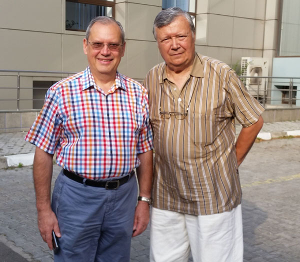 Dumitru Prunariu si Alexandru Mironov
