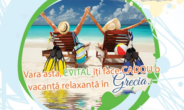 E vital sa te #rEVITALizezi! Vara asta, Evital iti face cadou o vacanta relaxanta in Grecia