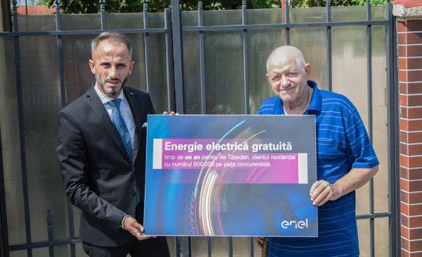 Enel înregistrează 500.000 de clienți rezidențiali pe piața concurențială de energie electrică