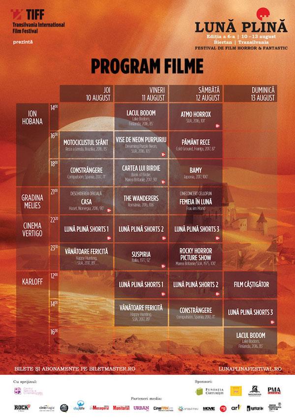 Luna Plina 2017 program