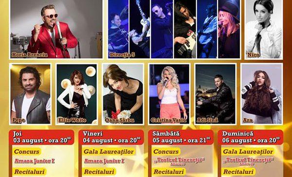 TVR 2 transmite Festivalul Trofeul Tinereţii – Amara, 2017