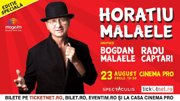 """Spectacolul """"Ediție Specială"""", cu Horațiu și Bogdan Mălăele, revine miercuri, 23 august, la Cinema PRO"""