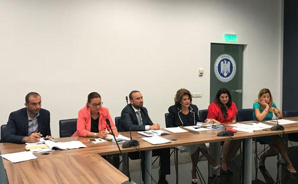 Intalnire Rovana Plumb cu reprezentantii Ministerului Transporturilor, CNAIR si CFR