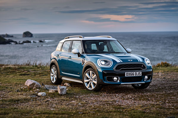 MINI Cooper S Countryman, TOP SAFETY PICK
