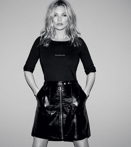 RESERVED, campania de Toamna-Iarna, Kate Moss