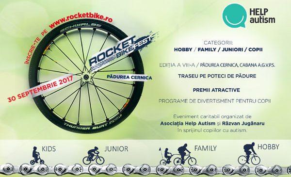 Au început înscrierile la Rocket Bike Fest 2017, competiția de ciclism pentru toată familia