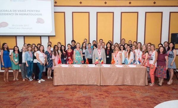 """80 de medici rezidenți din România și din țările balcanice au fost prezenți la """"Școala de vară de hematologie"""""""