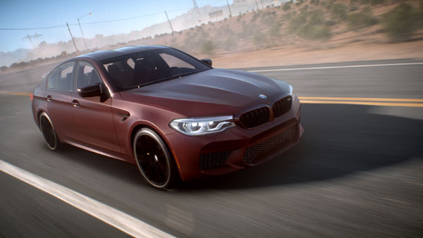 The new BMW M5 in Need for Speed (TM) Payback