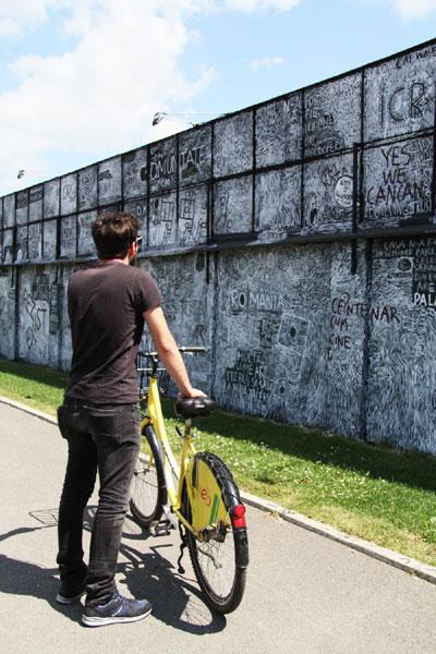 Ziar Orizontal, platforma artistului Dan Perjovschi
